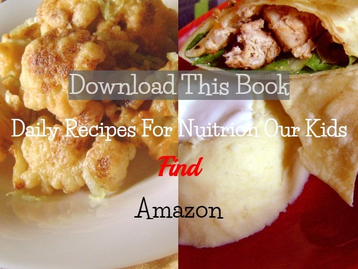 daily recipes for nutrition our kids
